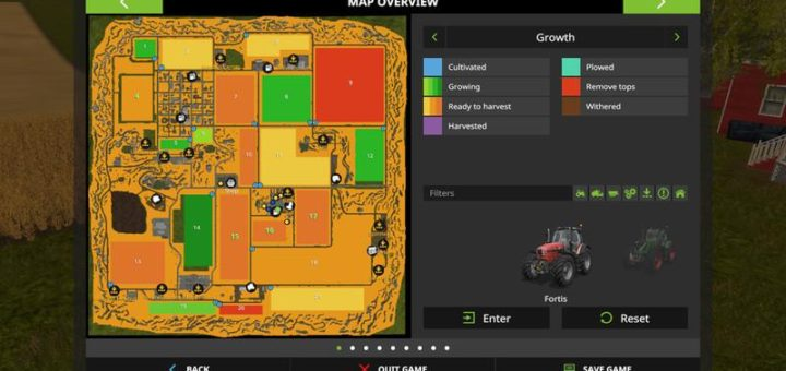 Мод карта WESTBRIDGE HILLS 5 V5.3 Farming Simulator 2017