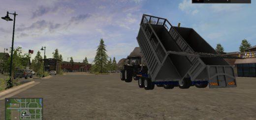 Мод прицепы Alum Silage Trail v 1.0 Farming Simulator 17
