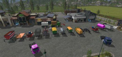 Мод модули AR/Frame – Equipment Pack v 1.1 Farming Simulator 17