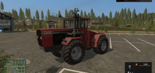 Мод трактор Case IH 9190 v 1.0 Farming Simulator 17