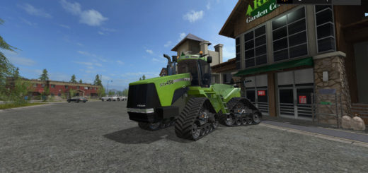 Мод трактор CASE IH STEIGER STX QUADTRAC V1.2 Farming Simulator 2017