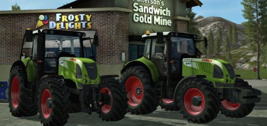 Мод трактор Claas Arion 640 v 1.1 FS17