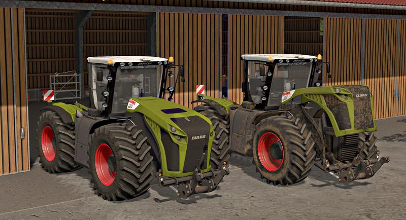 Мод трактора Claas Xerion 4000-5000 v 4.0 RUS Фермер Симулятор 2017