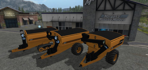 Мод прицепы COOLAMON CHASER BINS 18T AND 24T V1.0 FS17