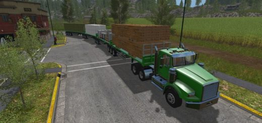 Мод ПАК Custom Road Train Pack V 1.0 FS17