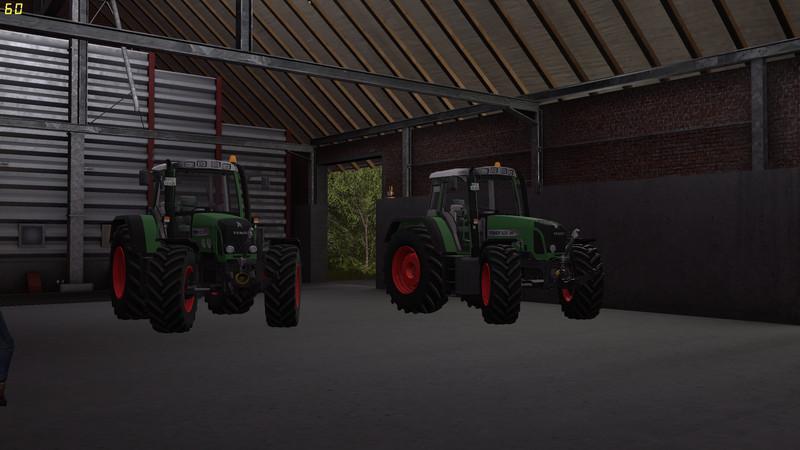 Мод трактор Fendt 820 Vario TMS v 1.0 FS17