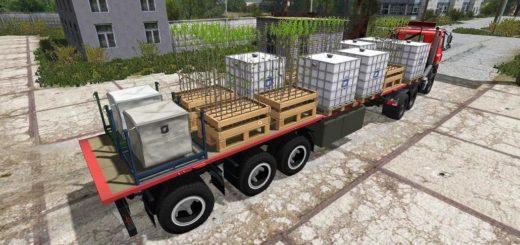 Мод Flatbed UAL v 1.0 Farming Simulator 17