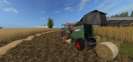 Мод тюкопресс FendtV5200 V1.0.0.3 Farming Simulator 17