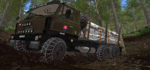 Мод Forest Tatra 815 v 1.1 FS17