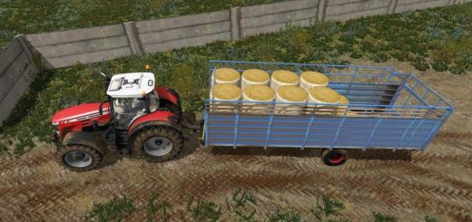 Мод прицеп HTS 50.04 UAL Farming Simulator 17