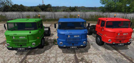 Мод грузовик IFA L60 v2 SZM FS17
