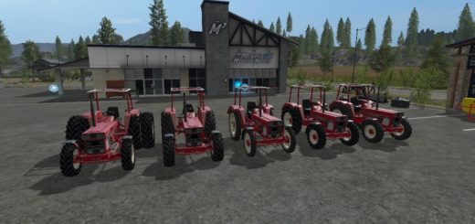 Мод трактора IHC 644 v 2.1.0 Farming Simulator 2017