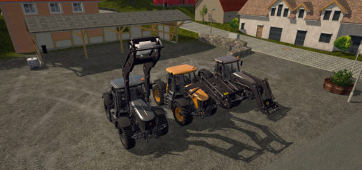 Мод трактора JCB 3000 Chip Tuned V 3.1 Hotfix Farming Simulator 2017