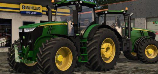 Мод трактор JOHN DEERE 7270R V1.1 Фермер Симулятор 2017