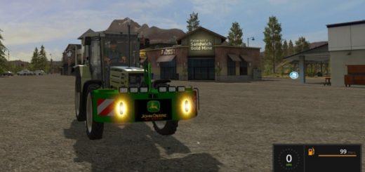 Мод противовес John Deere Weight v1.0 Farming Simulator 2017