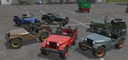 Мод авто Jeep 1972 V 1.0 Farming Simulator 2017