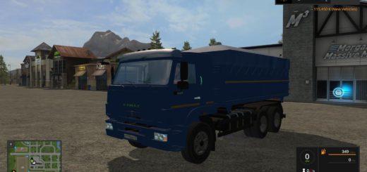 Мод грузовик КамАЗ 45143 v 1.0.0.0 Фермер Симулятор 2017