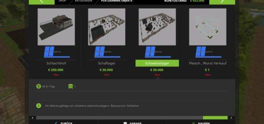 Мод производство Kastor Food Inc. Tier Weiterverarbeitungs Pack v 1.0 Farming Simulator 17
