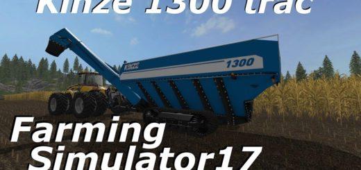Мод прицеп KINZE 1300 V3.0 Farming Simulator 17