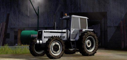 Мод трактор LAMBORGHINI 854 V2.0 MORE REALISTIC Farming Simulator 2017