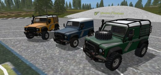 Мод Land Rover Defender 90 V1.0.0.0 FS17