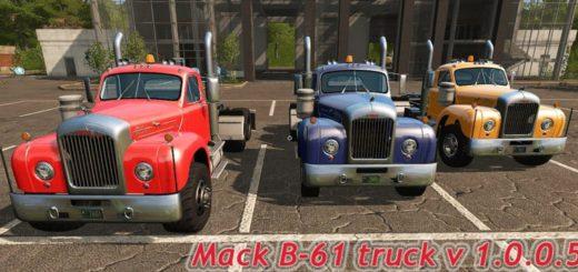 Мод тягач Mack B-61 truck v 1.0.0.5 Farming Simulator 2017
