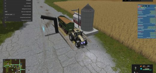 Мод хранилище Multi interim storage V 2.0 Farming Simulator 2017