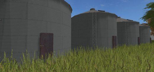 Мод хранилище OLD BIN V1.0 Farming Simulator 17
