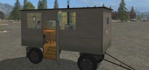 Мод прицеп Pause Cart v 3.1 Farming Simulator 17