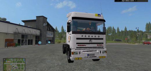Мод тягач Pegaso TRONER TX v 1.1.0.0 Farming Simulator 17
