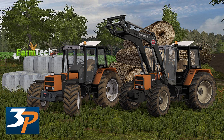 Мод трактор Renault 95.14 v 1.0 Farming Simulator 2017