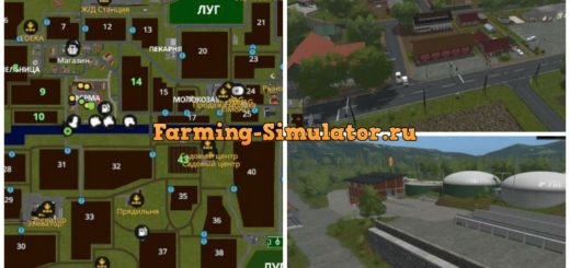 Мод карта Südhemmern V 8.0 Farming Simulator 2017