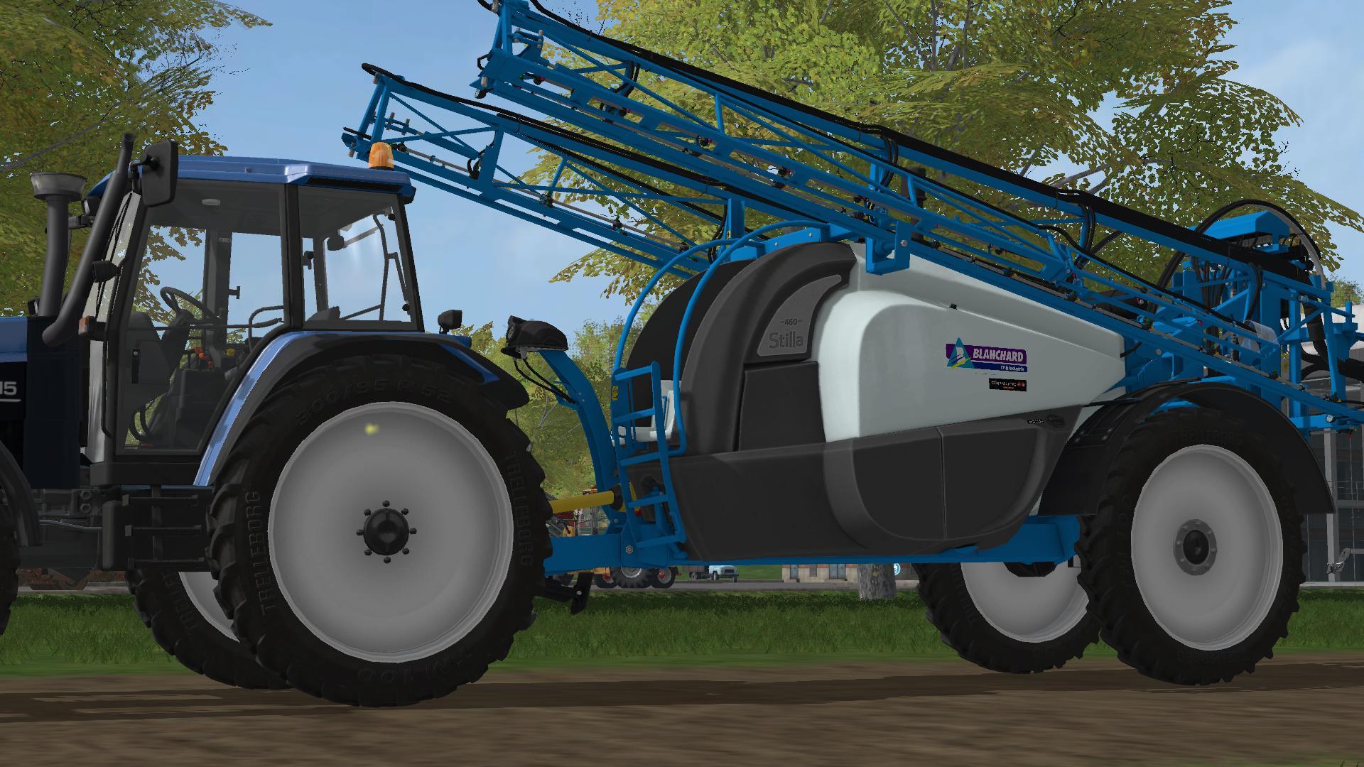 Мод опрыскиватель Blanchard ALT 2500 v 1.0 Farming Simulator 2017