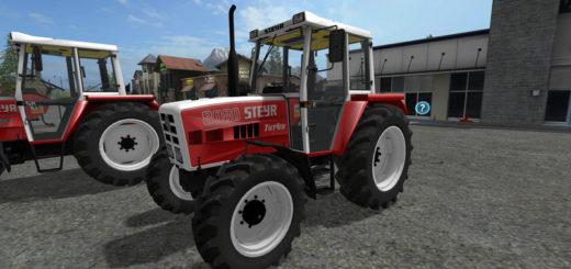 Мод трактора STEYR 8080 8090 SK2 V2.0 Farming Simulator 17
