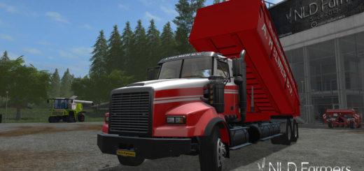 Мод грузовик TWINSTAR A. HELMER U.S. EDITION PACK V1.0.0.1 Farming Simulator 17