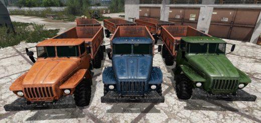 Мод грузовик Урал Ural Farmer V 2.0 Фарминг Симулятор 2017