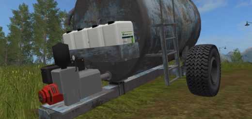 Мод бочка VUA3A V1.1 Farming Simulator 17