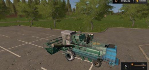 Мод комбайн Енисей Yenisei-1200 and header v 1.0 Фермер Симулятор 2017