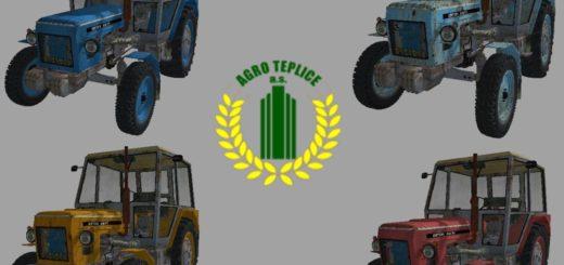 Мод трактора ZETOR 6911 PACK V1.0 FS17