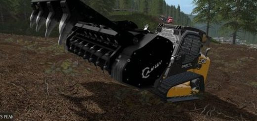 Мод корчеватель AHWIFM700 STUMP GRINDER V1.0 Farming Simulator 17