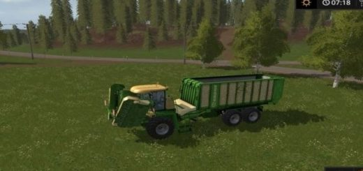 Мод Krone Big-L500 Pro Mower Farming Simulator 2017