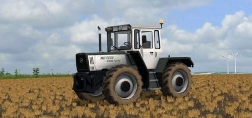 Мод трактор MB trac 1000 serie silver v 1.0 Farming Simulator 17