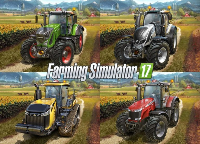 Скачать Farming Simulator 17 v 1.4.4 + 4 DLC Big Bud Pack RePack от xatab