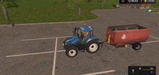 Мод прицеп Futtermischer v 1.0 Farming Simulator 2017