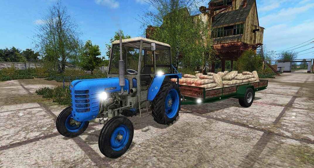 Мод прицеп Kleiner Anhänger V1.0 Farming Simulator 17