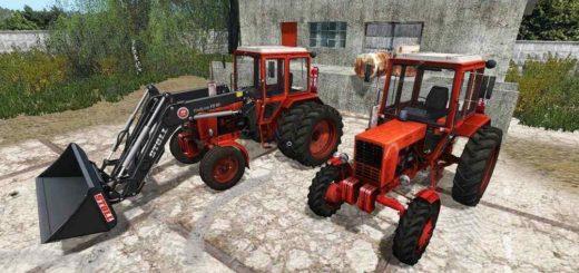 Мод трактора МТЗ Mtz 80 and 82 V1.2 Фермер Симулятор 2017