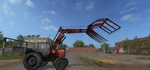 Мод трактор МТЗ 82 и ПКУ 0.8 v 1.1 Фарминг Симулятор 2017