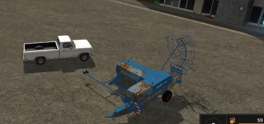Мод тюкопресс Progress K 454 Small Baler v 1.0 FS17