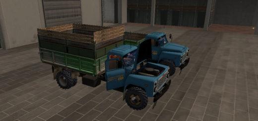 Мод грузовик ГАЗ 53 Фермер Симулятор 2017