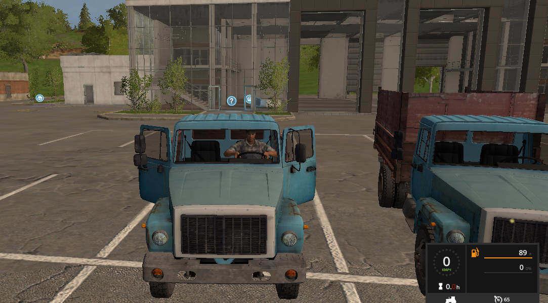 Мод грузовик ГАЗ САЗ Фермер Симулятор 2017